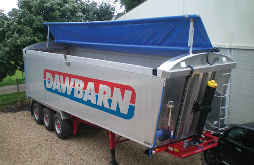 Commercial vehicle sheeting systems - Dawbarn & Sons Limited on